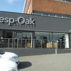 Besp-Oak furniture shop - exterior rendering