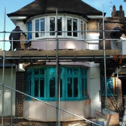 External Wall Insulation and Exterior Renovation